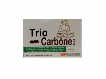 Trio Carbone Plus integratore Regolarità Intestinale